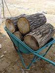 薪のせ一輪車