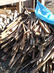 薪ストーブ用の焚きつけ