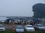 平潟港の朝市