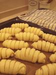 二次発酵完了!ウィンナーパン
