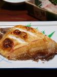 ムシガレイの塩焼き