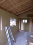 厨房小屋の内装