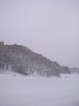 舘岩村の雪景色