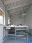 厨房小屋のセルフビルド
